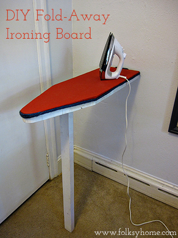 DIY Ironing Board 16