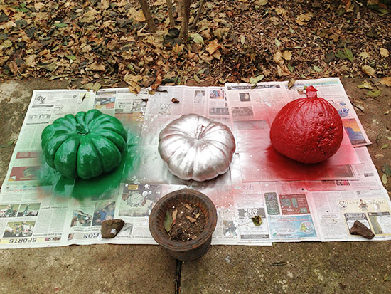 Christmas Gourds 1