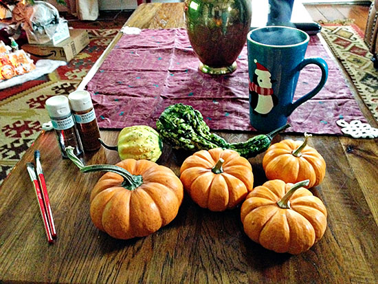 Christmas Gourds 8