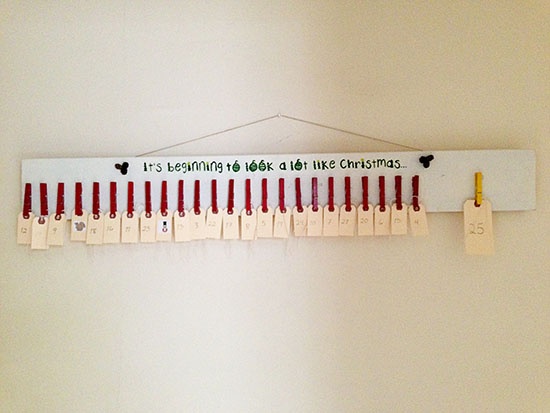 DIY Advent Calendar 2