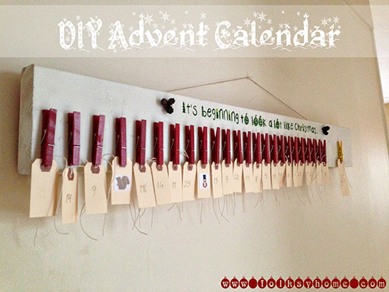 DIY Advent Calendar 3